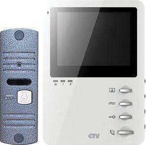 Комплект цветного видеодомофона CTV-DP1400M