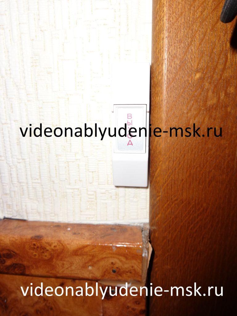 Фото установки электронных замков и домофонов
