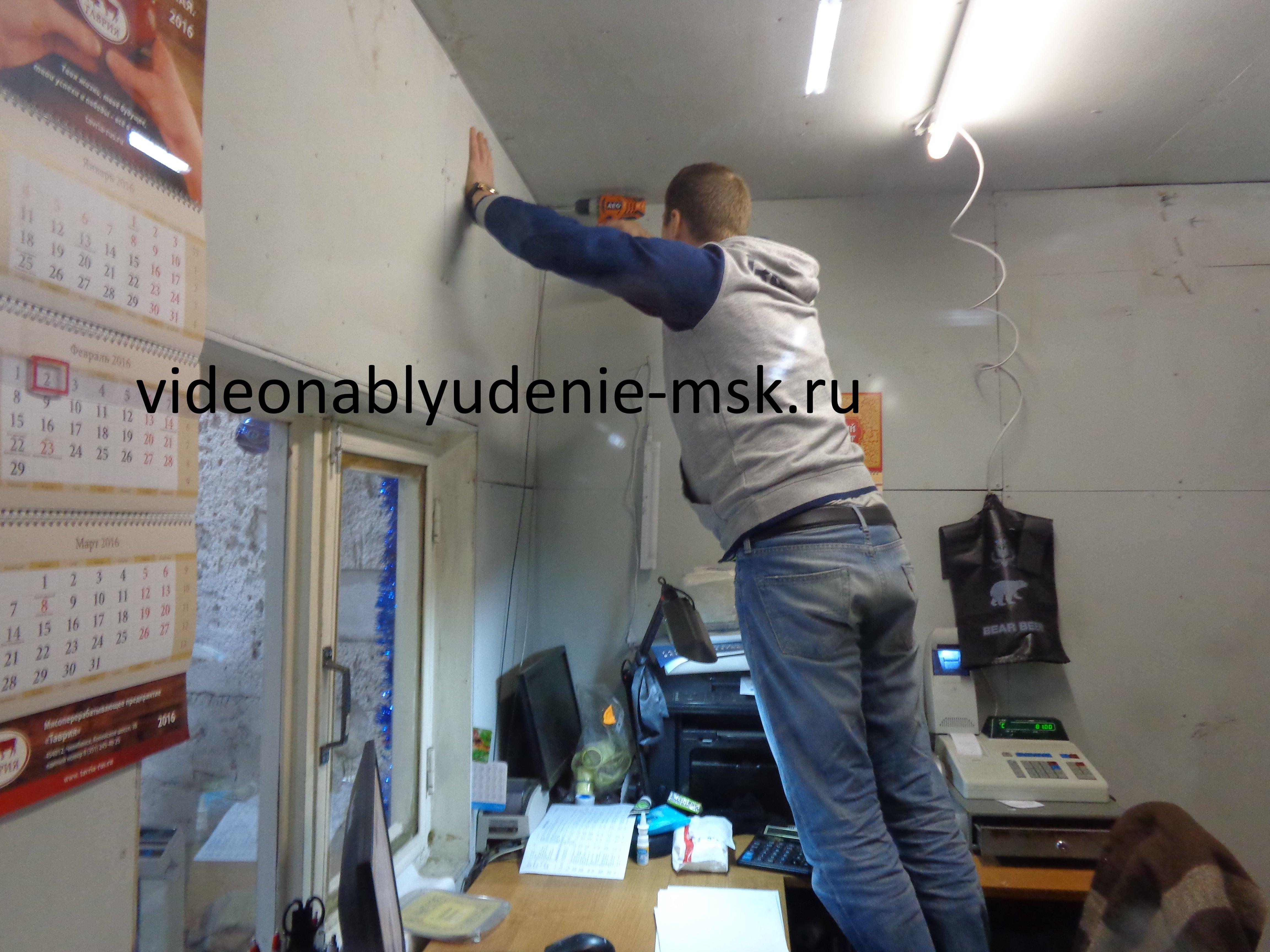Установка систем видеонаблюдения Фото 3