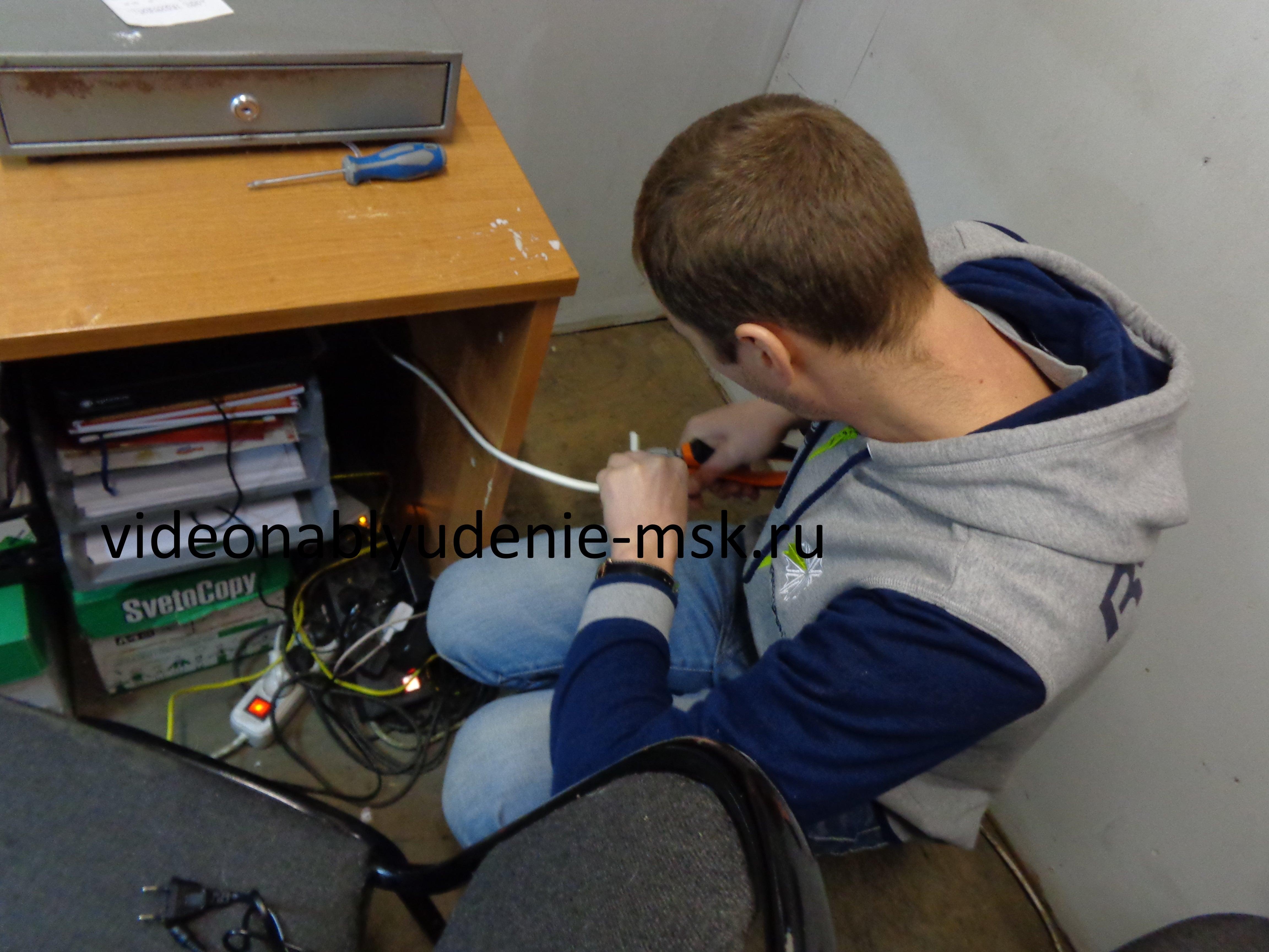 Установка систем видеонаблюдения Фото 2