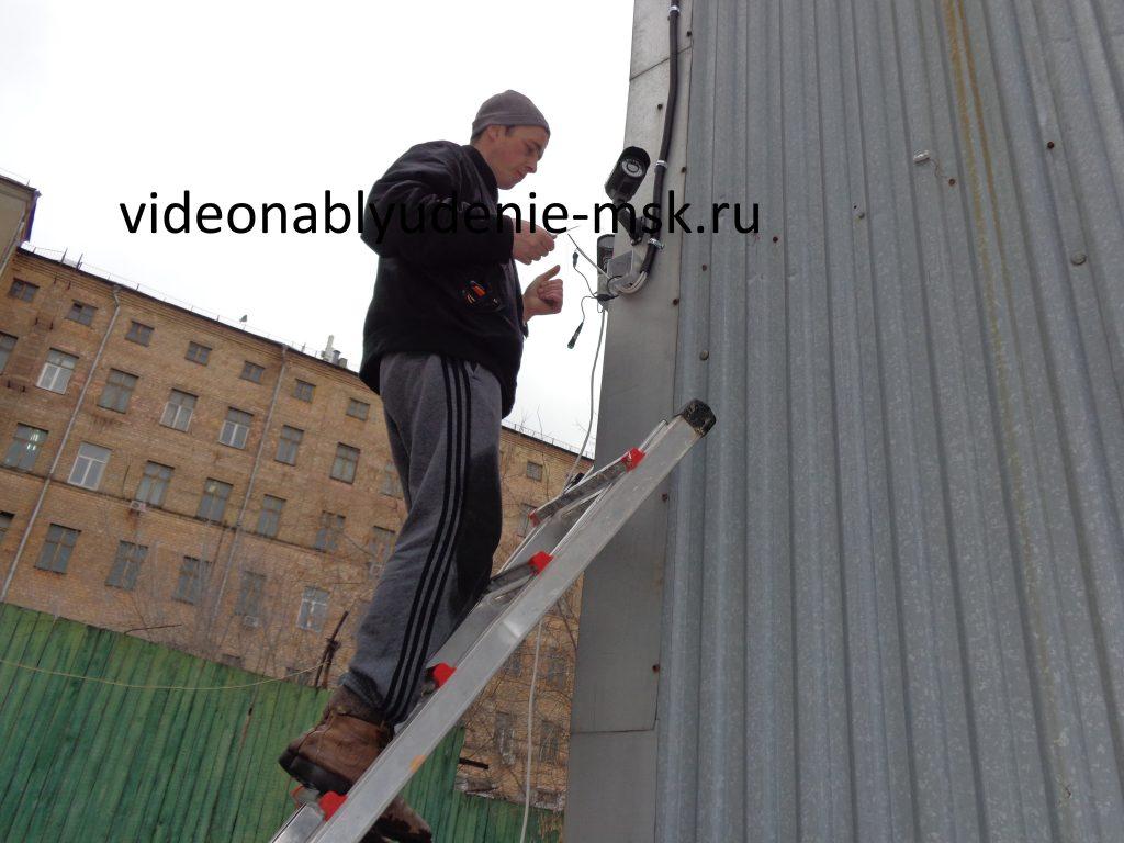 Видеонаблюдение - фото работ