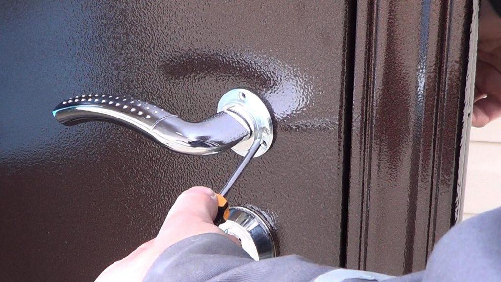 Ремонт дверных ручек входной двери