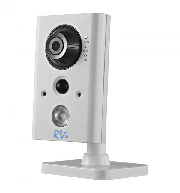Фото 1 - Корпусная миниатюрная IP камера RVi-IPC12SW (2,8 мм).