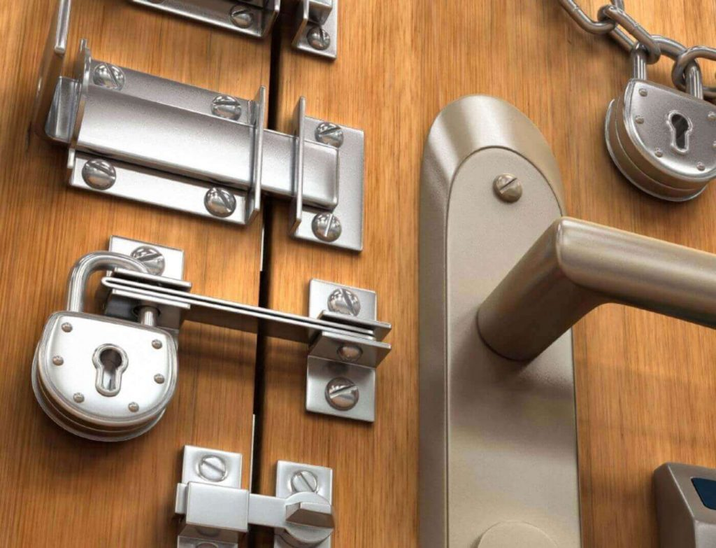 открыть замок без ключа входной двери