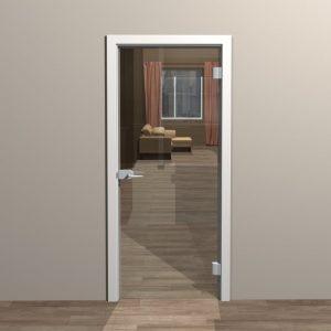 Замена замка в стеклянной двери