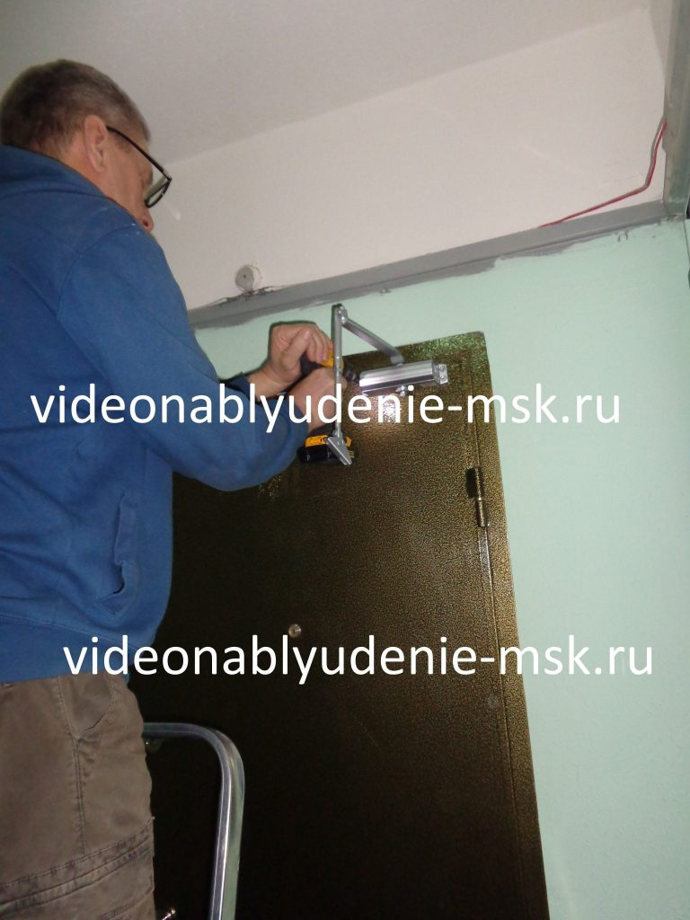 Установка и регулировка доводчика на дверь Фото 6