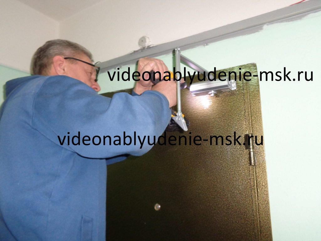 Установка и регулировка доводчика на дверь Фото 8