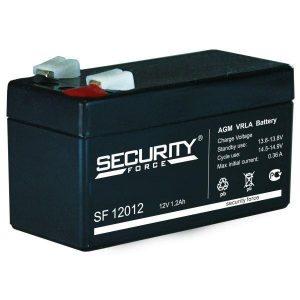 Аккумулятор герметичный свинцово-кислотный 12 В, 1.2 Ач