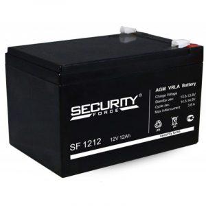 Аккумулятор герметичный свинцово-кислотный 12 В, 12 Ач