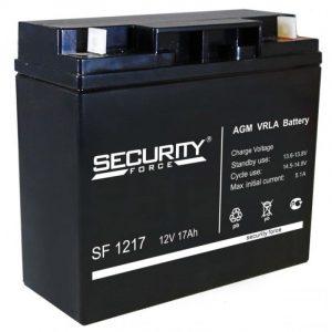 Аккумулятор герметичный свинцово-кислотный 12 В, 17 Ач