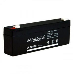 Аккумулятор герметичный свинцово-кислотный 12 В, 2.2 Ач