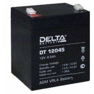 Аккумулятор герметичный свинцово-кислотный 12 В, 4.5 Ач