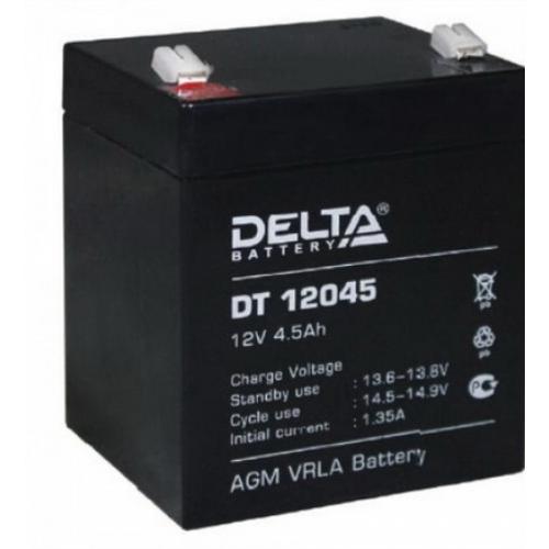 Фото 1 - Аккумулятор герметичный свинцово-кислотный 12 В, 4.5 Ач.