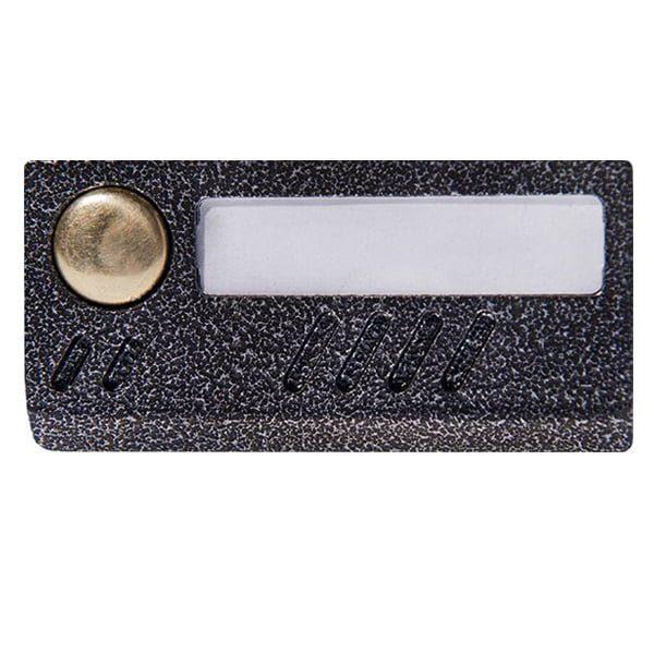 Фото 1 - Вызывная аудиопанель AVC-109 цвет серебро.