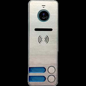Фото 14 - Вызывная панель для видеодомофона iPanel 2 Металл 2 абонента.