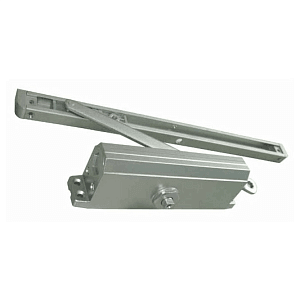 Доводчик дверной E-605D (серебро)
