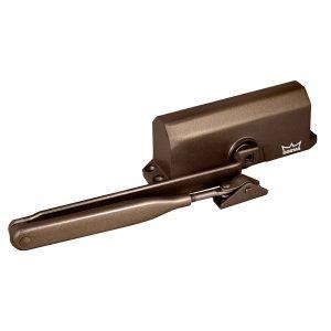 Доводчик дверной TS-68 с ФОП (коричневый)