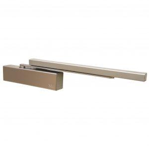 Доводчик дверной TS-92 В без скользящего канала (коричневый)