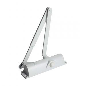 Доводчик дверной TS Compakt (белый)