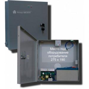 Источник вторичного электропитания резервированный Резерв 12/2 BOX (цвет корпуса черный)