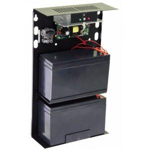 Фото 17 - Источник вторичного электропитания резервированный Резерв 12/3 (исп. 14) (цвет корпуса черный).