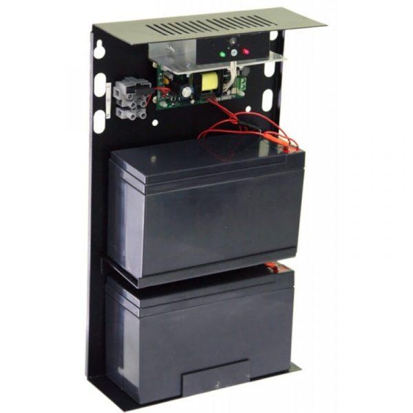 Источник вторичного электропитания резервированный Резерв 12/3 (исп. 14) (цвет корпуса черный)