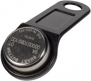 Ключ электронный Touch Memory RW 1990 SLINEX (черный) с держателем