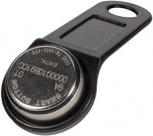 Фото 3 - Ключ электронный Touch Memory SB 1990 A (черный) с держателем.