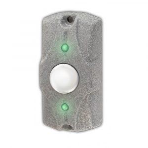 Кнопка выхода ЦИКЛОП (серый металлик)