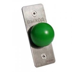 Кнопка металлическая, врезная, грибок ST-EX031