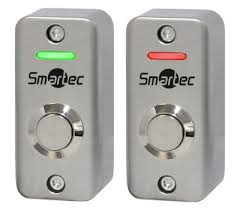 Кнопка металлическая, накладная ST-EX012LSM