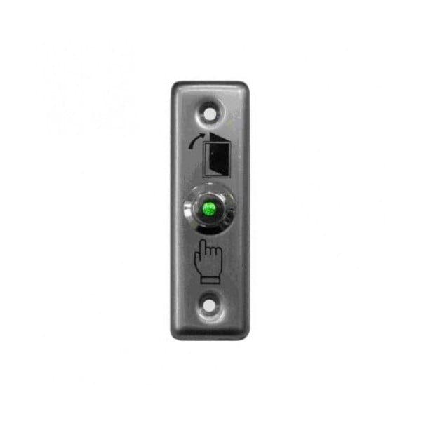 Фото 1 - Кнопка металлическая с подсветкой, врезная ST-EX010L.