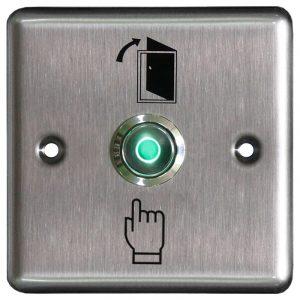 Фото 2 - Кнопка металлическая с подсветкой, врезная ST-EX110L.