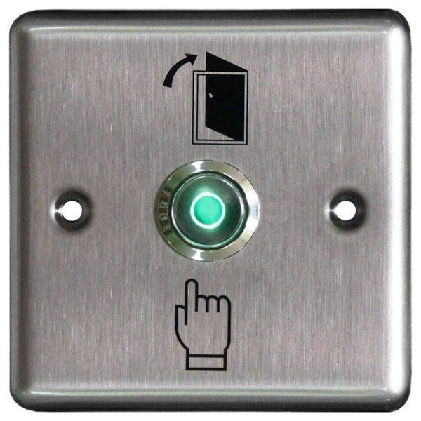 Фото 1 - Кнопка металлическая с подсветкой, врезная ST-EX110L.