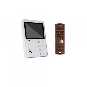 Комплект видеодомофона с магнитным замком с установкой