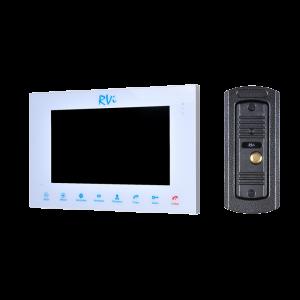 Фото 6 - Комплект видеодомофона RVi-VD10-11 (белый) + RVi-305 LUX.