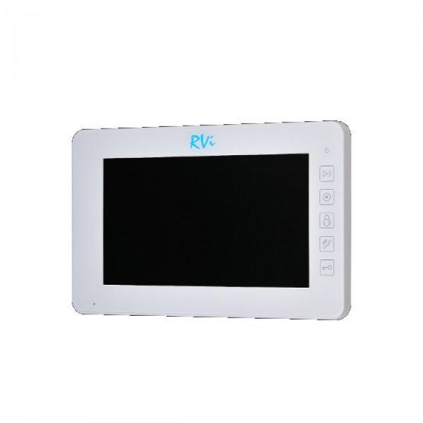 Фото 1 - Комплект видеодомофона RVi-VD10-21M (белый) + RVi-305 LUX.