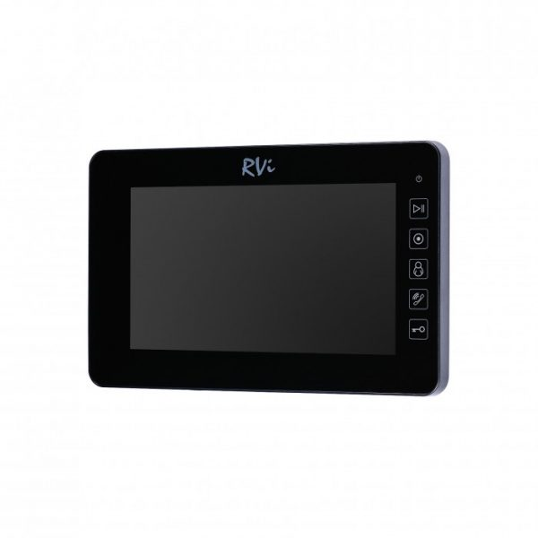 Комплект видеодомофона RVi-VD7-21M (черный) + RVi-305 LUX