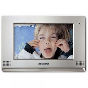 Фото 49 - Монитор видеодомофона цветной с функцией «свободные руки» CDV-1020AE (серебро).