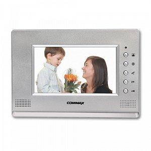 Фото 51 - Монитор видеодомофона цветной с функцией «свободные руки» CDV-70A/XL (серебро).