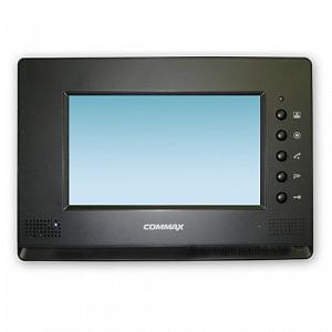 Монитор видеодомофона цветной с функцией «свободные руки» CDV-71AM (черный)