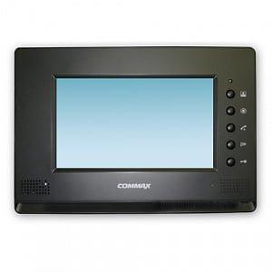Фото 54 - Монитор видеодомофона цветной с функцией «свободные руки» CDV-71AM/Vizit (черный).