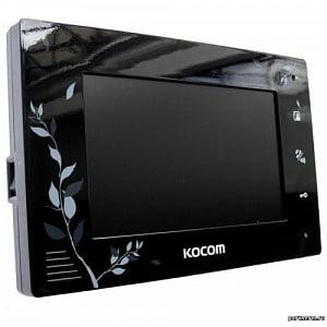 Монитор видеодомофона цветной с функцией «свободные руки» KCV-A374LE (чёрный)