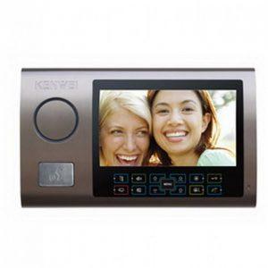 Фото 28 - Монитор видеодомофона цветной с функцией «свободные руки» KW-S701C (бронза).