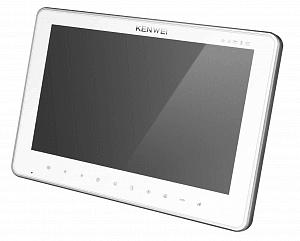 Фото 30 - Монитор видеодомофона цветной с функцией «свободные руки» KW-SA20C-PH-HR (белый).
