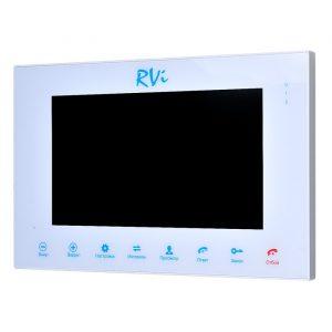 Фото 4 - Монитор видеодомофона цветной с функцией «свободные руки» RVi-VD10-11 (белый).