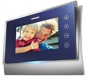 Фото 25 - Монитор видеодомофона цветной CDV-70U (темно-синий).