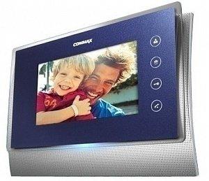 Фото 27 - Монитор видеодомофона цветной CDV-70U/VIZIT (темно-синий).