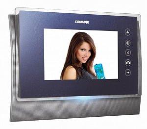 Фото 30 - Монитор видеодомофона цветной CDV-70UM (синий).