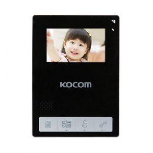 Фото 4 - Монитор видеодомофона цветной KCV-434SD (черный).